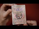 Tigers Playing Cards