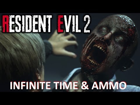 Resident Evil 2 Remake 1 Shot Demo INFINITE AMMO and TIME PC ULTRA SETTINGS DX12