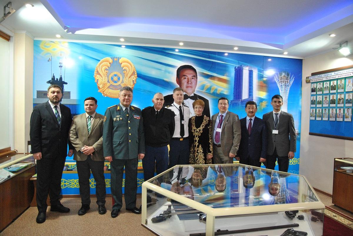Военные США посетили Департамент полиции Северо-Казахстанской области