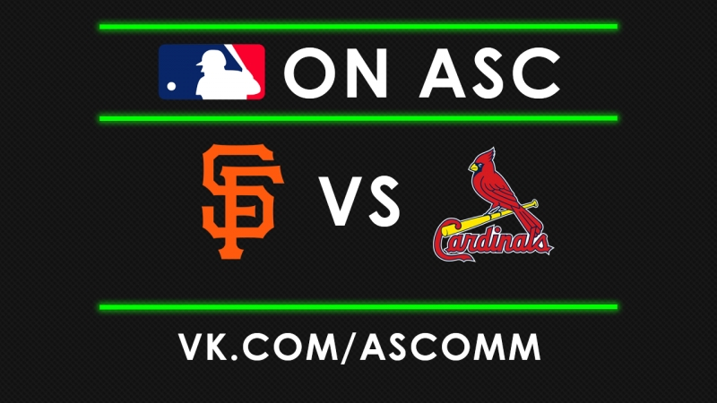 MLB | Giants VS Cardinals