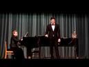 Андрей Шитиков В А Моцарт Ария с шампанским из оперы Дон Жуан С Рахманинов О нет молю не уходи