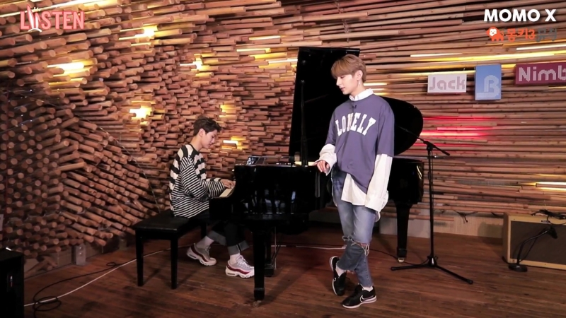 180622 리쓴(LISTEN)] Golden Child 골든차일드 Y,홍주찬 - LADY (Piano ver.)