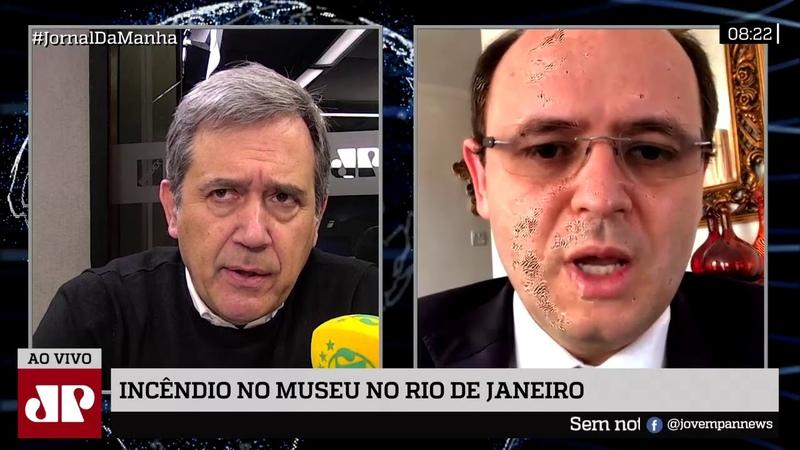 Ministro nega falta de recursos e diz que era UFRJ quem decidia o quanto destinava ao Museu Nacional