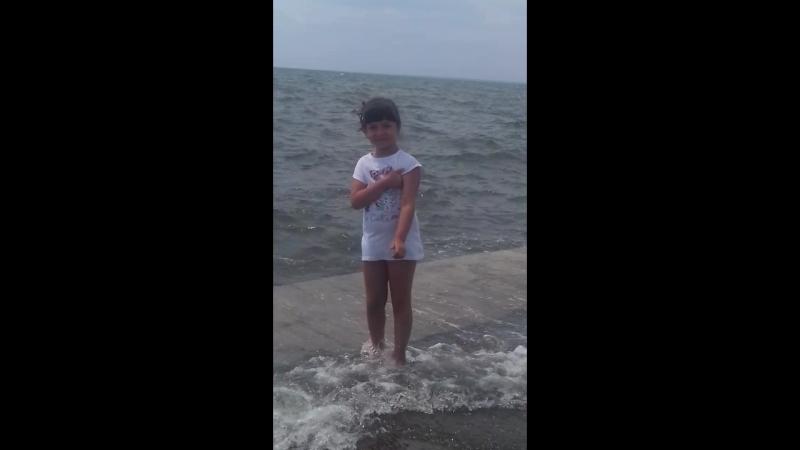 здравствуйте я на море 😘