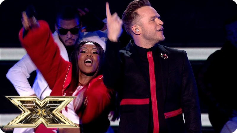 Olly Murs returns to the X Factor stage with Moves   Live Shows Week 4   The X Factor UK 2018