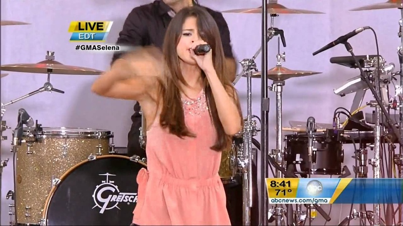 Selena Gomez Who says Love You Like a Love Song Naturally HD