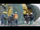 Top 10 Heavy Equipment Biggest Excavator Operator Skills Modern Extreme ACTION Tyre Chains