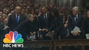 George W Bush Continues Sweet Tradition With Michelle Obama At Dad's Funeral NBC News