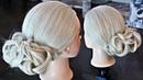 Hairstyle bun Hairstyles by REM © Lena Rogovaya