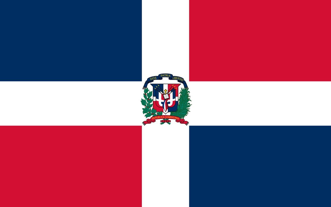Флаг Доминиканская Республика