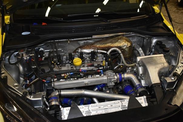 Vesta с 350-сильным двигателем