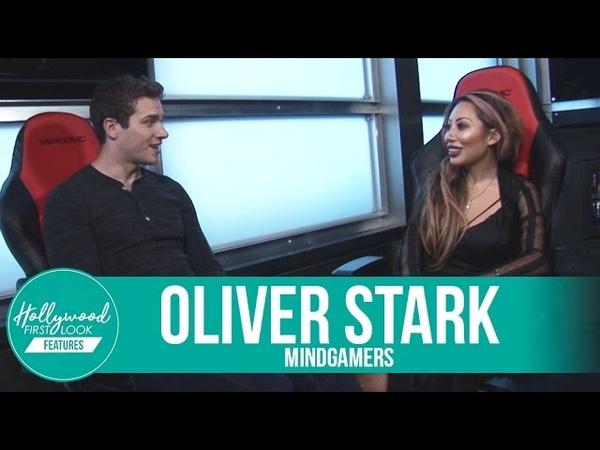 Oliver Stark on His Crazy Behind-the-Scenes Stunts | MindGamers (2017)