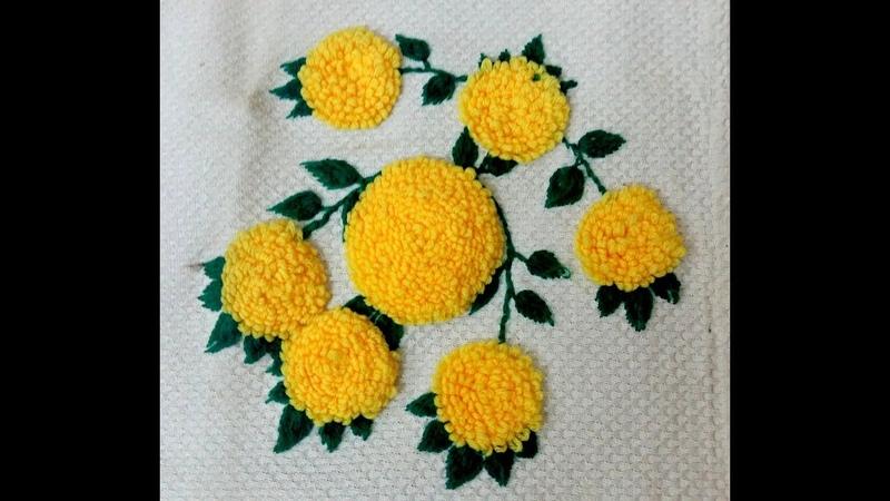 Marigold Stitch Embroidery Satrangi