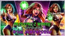 Injustice 2 Mobile Фулл Экипировка Старфайр Full 60lvl Gear Set Starfire