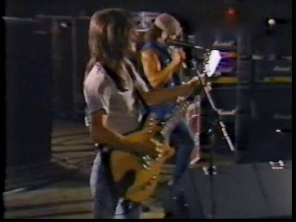 AC/DC Rehearsals los angeles october 1983 part1