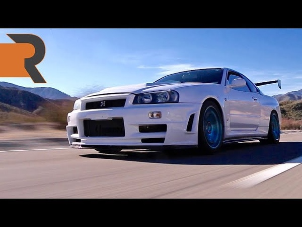 I Drove A Nissan Skyline R34 GTR In America and the Feds Didn't Catch Me