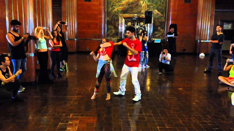 Igor Fraga and Jessica Lamdon Smooth Moves Workshop at the 2015 LA Zouk Congress