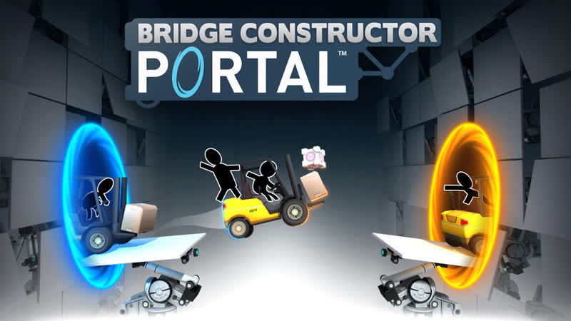 Bridge Constructor: Portal 4