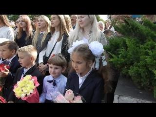 Первое сентября в гимназии №3 Витебска: смотрим, как прошла линейка