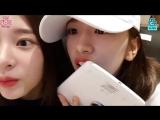 [FSG Pick Up!] 12-я трансляция IZONE в V Live Как вы думаете, кто это? (рус. саб.)