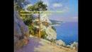Мастер класс Морской пейзаж Крым склоны Панеа
