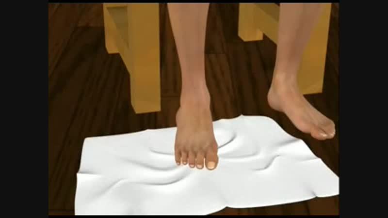 6 Плантарный фасциит (пяточная шпора) - лечебные упражнения 4 а