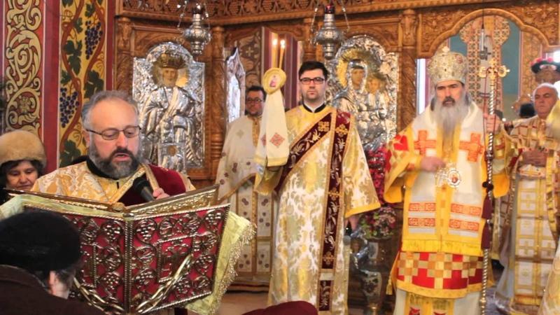 Evanghelia, Arhidiacon Bartolomeu, Sfintii Trei Ierarhi,Constanta 2015