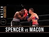 Spencer vs Macon (Highlights) September 30, 2018