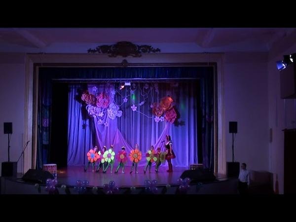 Выступление творческой группы МБДОУ Детский сад 15 на сцене ДК Дзержинского