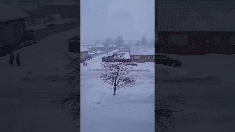 13. Slow Mo Snowfall Yurino. Слоу Мо Снегопад Юрино 4K VIDEO UHD Ultra HD