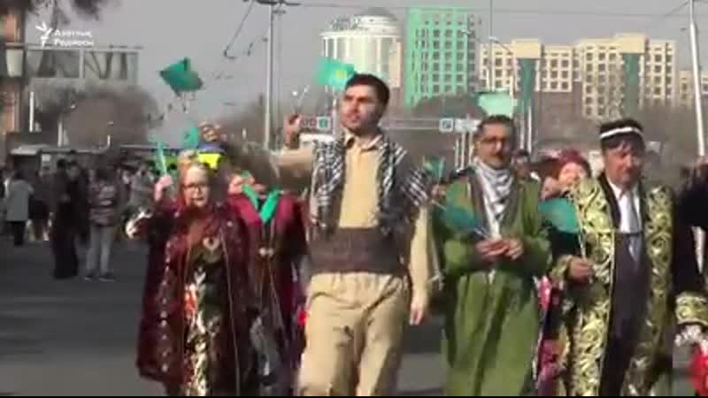 21 наурызда Алматыда екі мыңнан астам адам қатысқан Наурыз шеру шарасы өтті