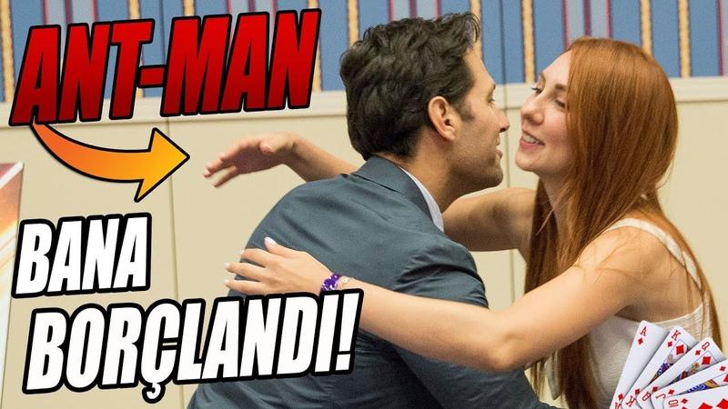 ANT-MAN İLE OYUN OYNADIK BANA BÖYLE BORÇLANDI!