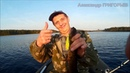 Троллинг на разливах реки Trolling on river floods Рыбалка в Карелии