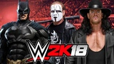 Batman vs Sting vs The Undertaker