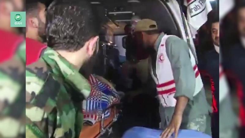 Сирия бригады медиков прибыли на помощь эвакуированным жителям Идлиба