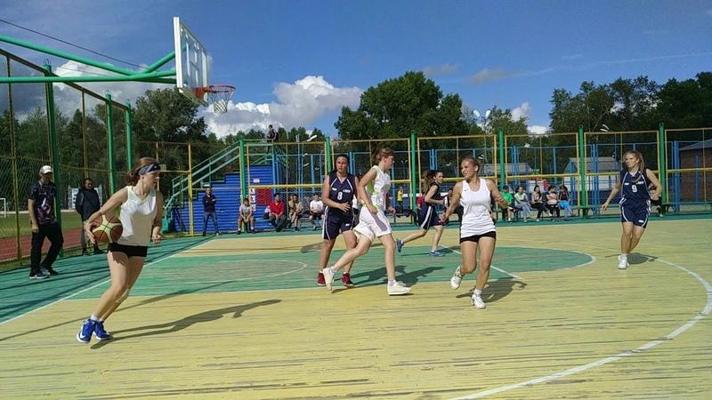 Сельские игры Колпашево 2018 - Баскетбол Новоселово - Тогур 3
