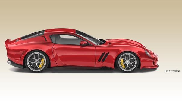 Ares Design Project (2018): Ferrari 250 GTO for the modern era Ателье Ares Design из Модены, руководит которым бывший генеральный директор Lotus Дэни Бахар, готово возродить легендарный Ferrari