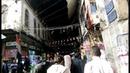Arbaeen 2018 Video 41 View of Syria Market and Yazeed LA Accursed Darbar