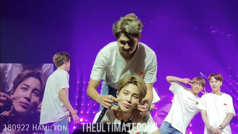 BTS Pampering Jimin Compilation - So What - 방탄소년단 Love Yourself Tour in North America