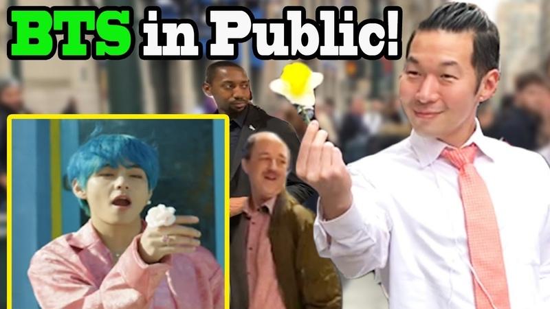 BTS Boy with Luv feat Halsey BTS Dance in Public