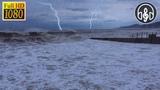 Шторм на Море с Дождем и Грозой. Звуки Природы Для Сна и Релакса 6 Часов
