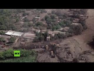 Последствия извержения вулкана в Гватемале, июнь 2018