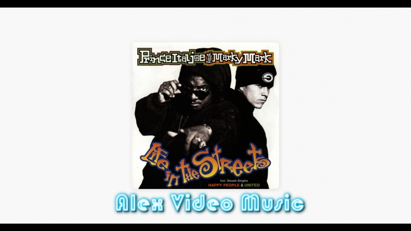 Mark Wahlberg (Marky Mark) Feat. Prince Ital Joe - United [Alex Video Music 90s]