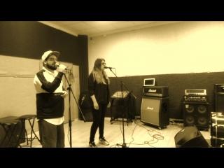 Виктория Ильинская & Саша Калиюга - LIVE! Репетиция! (Премьера альбома В невесомости 2018)