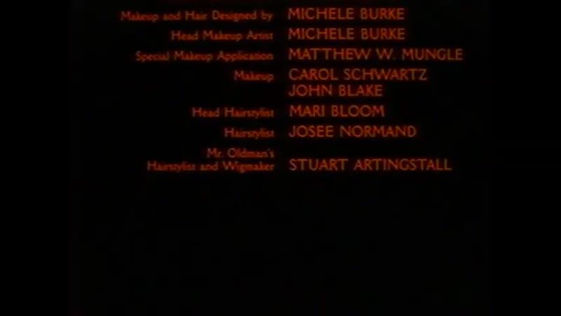 Movie End Credits 24 Bram Stokers Dracula