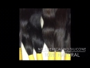 100 % natural Indian virgin remy intact cuticle unprocessed temple human hair