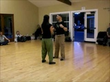 Tango Lesson Rebotes (switch steps) for Tango, Vals and Milonga with Juan D'Arienzo
