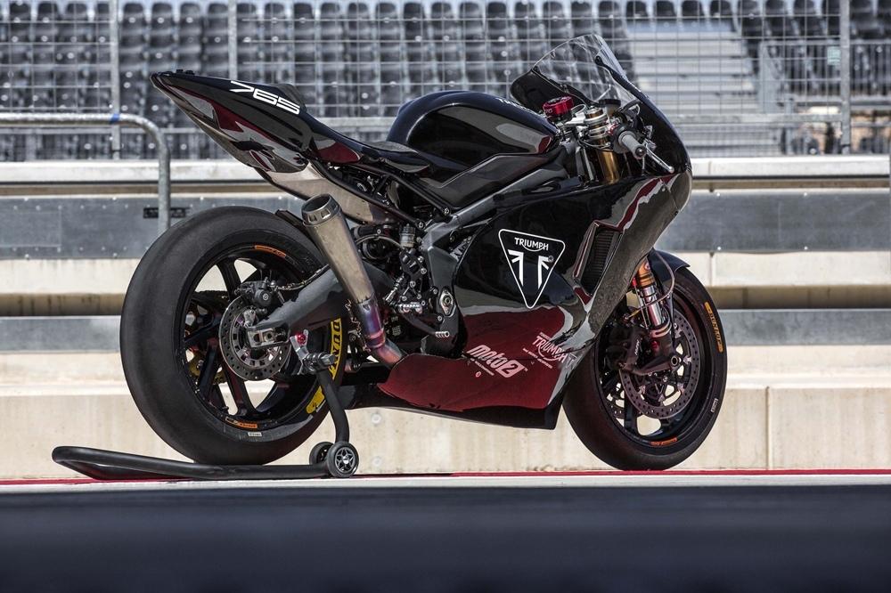 Производители Moto2 протестировали новый мотор Triumph