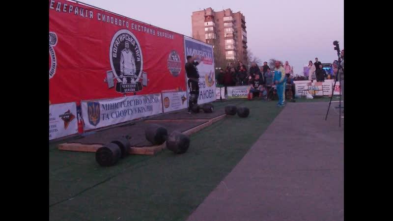 Михаил Ходяков Гантель 60 кг 80 кг 100 кг и 120 кг.