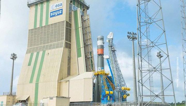 Вести.Ru Ракета Союз стартует с французского космодрома Куру сегодня вечером